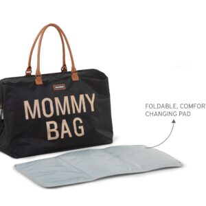 Torba Mommy Bag Big Black Gold