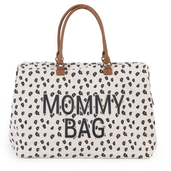 Torba Mommy Bag Big Canvas Leopard