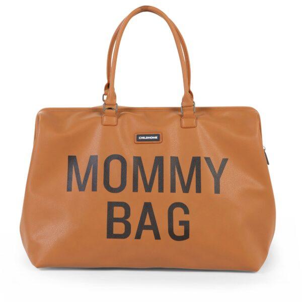 Torba Mommy Bag leatherlook brown