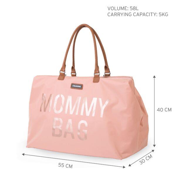 Torba Mommy Bag Big Off Powder Nude