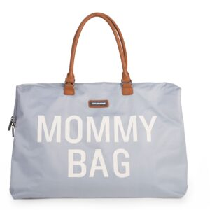 Torba Mommy Bag Big Grey Off White